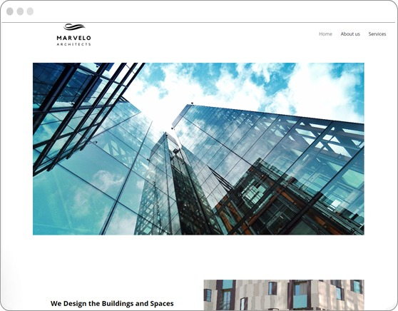 website-sample-architects