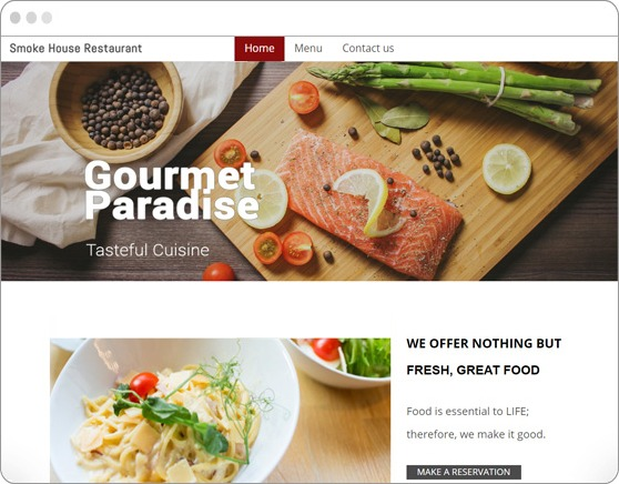website-sample-restaurant