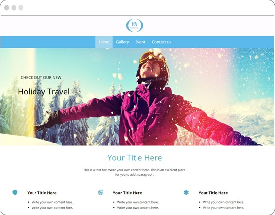 website-sample-winter